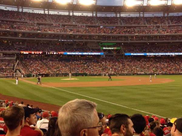 Nationals Park, section: 136, row: U, seat: 14
