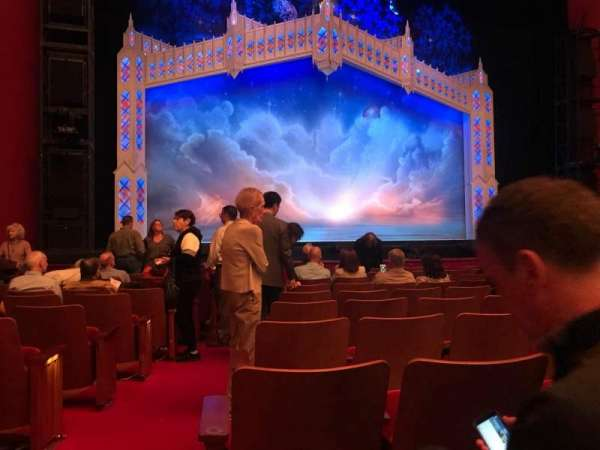 The Kennedy Center Opera House, section: Orch, row: O, seat: 124