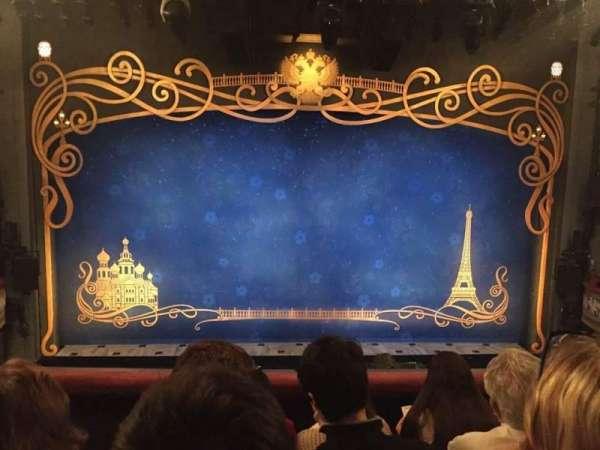 Broadhurst Theatre, section: Mezzanine C, row: D, seat: 105