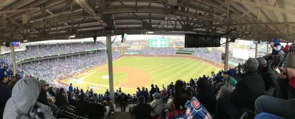 Wrigley Field, section: 425R, row: 9, seat: 22