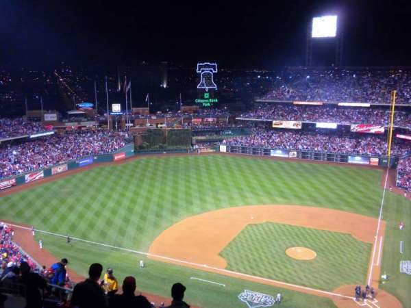 Citizens Bank Park, section: 424, row: 12