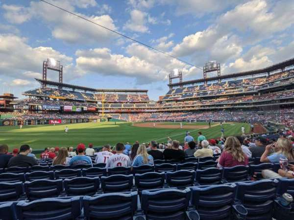 Citizens Bank Park, section: 138, row: 18, seat: 5