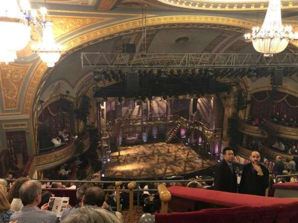Richard Rodgers Theatre, section: Rear Mezzanine L, row: L, seat: 13
