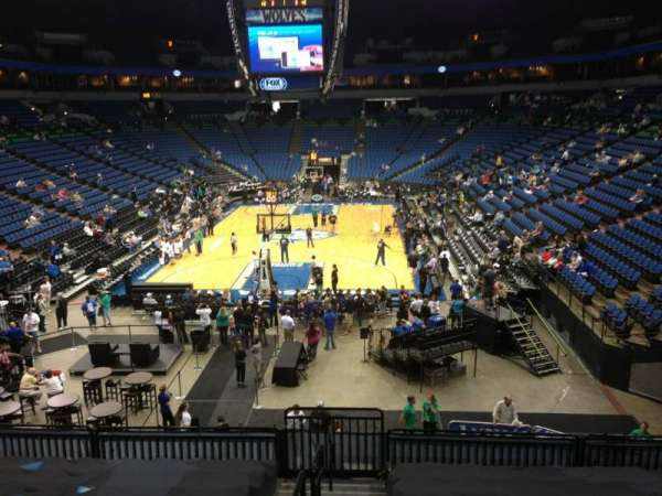 Target Center, section: 121, row: L, seat: 8