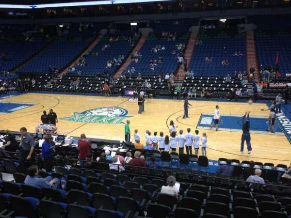 Target Center, section: 130, row: G, seat: 8