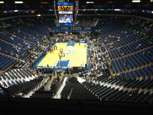 Target Center, section: 240, row: C, seat: 8