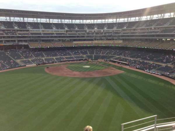 Target Field, section: 333, row: 5, seat: 5
