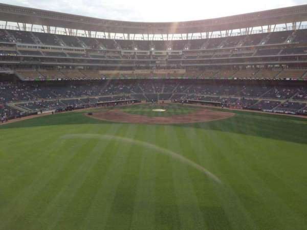 Target Field, section: 236, row: 4, seat: 11