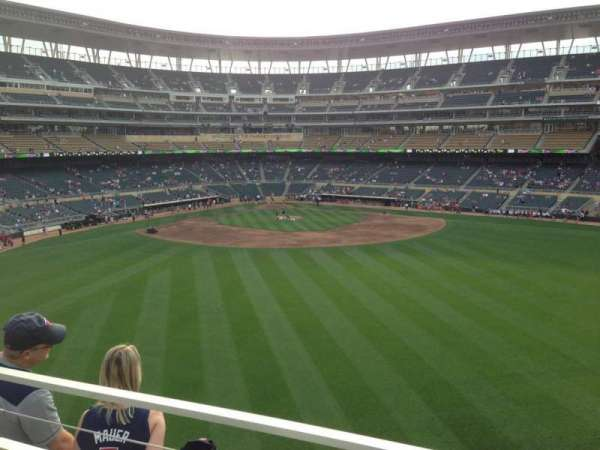 Target Field, section: 237, row: 3, seat: 8