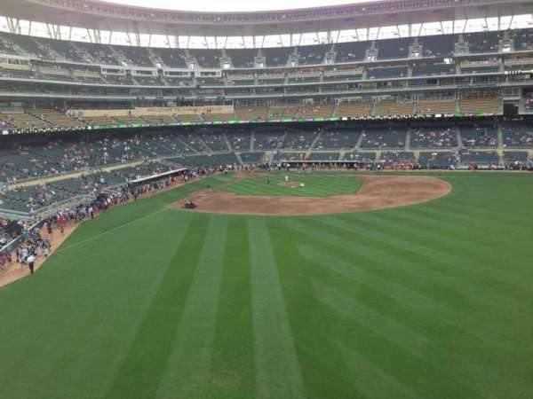 Target Field, section: 240, row: 1, seat: 1