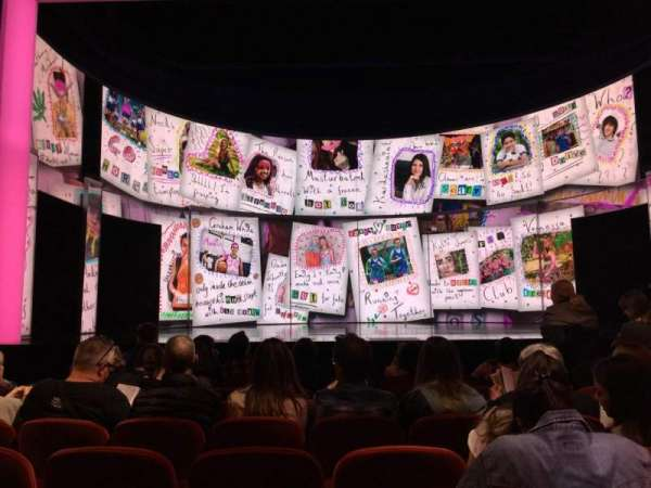 August Wilson Theatre, section: Orchestra C, row: H, seat: 109