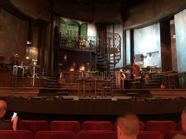 Walter Kerr Theatre, section: Orchestra C, row: G, seat: 109
