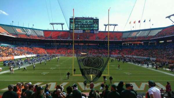 Hard Rock Stadium, section: Old 156, row: 18, seat: 18