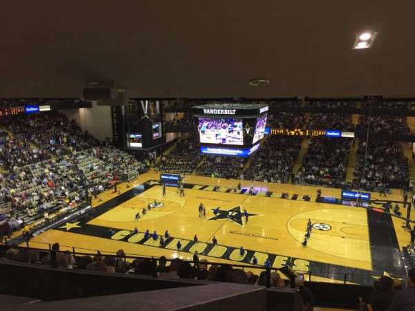 Memorial Gymnasium (Vanderbilt), section: 3A, row: 20