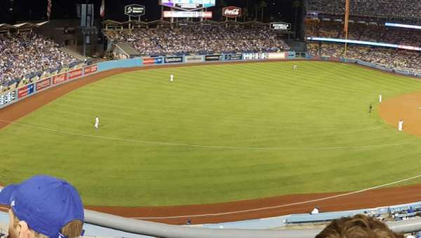 Dodger Stadium, section: 39RS, row: B, seat: 2