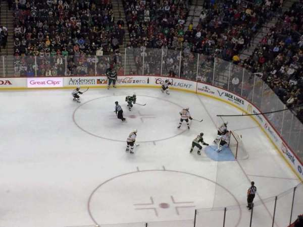 Xcel Energy Center, section: 203, row: 2