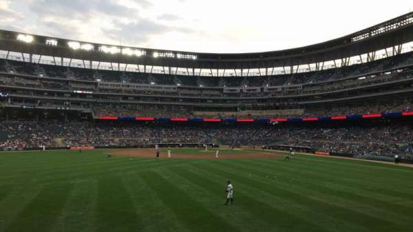 Target Field, section: 131, row: 5, seat: 1