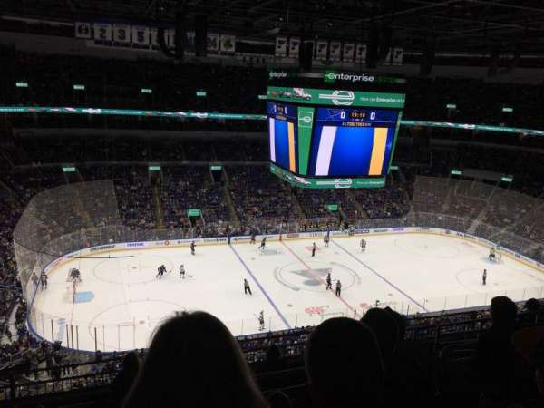 Enterprise Center, section: 322, row: K, seat: 13