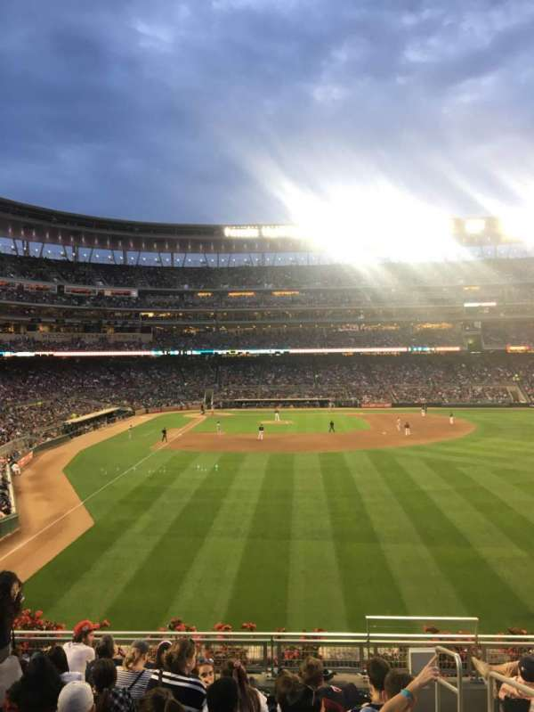 Target Field, section: 138, row: SRO