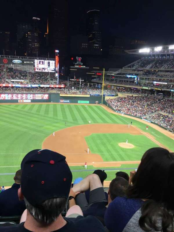 Target Field, section: 222, row: 5, seat: 11