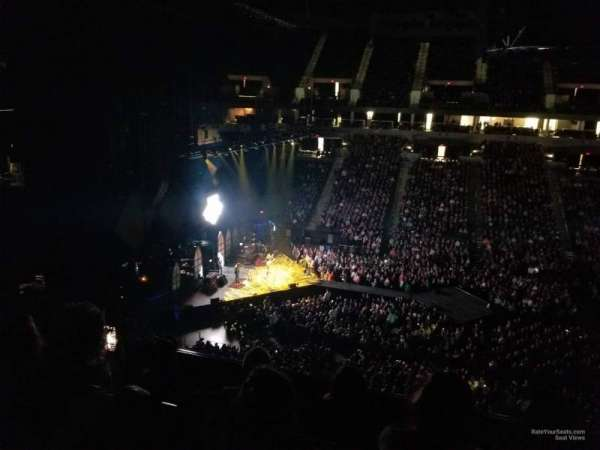 Target Center, section: 212, row: C