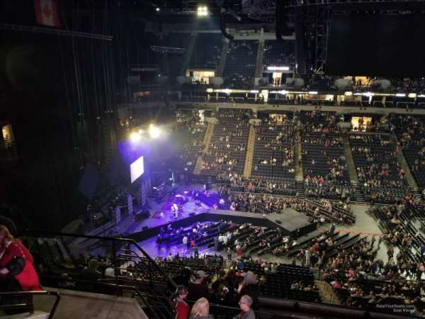 Target Center, section: 212, row: K
