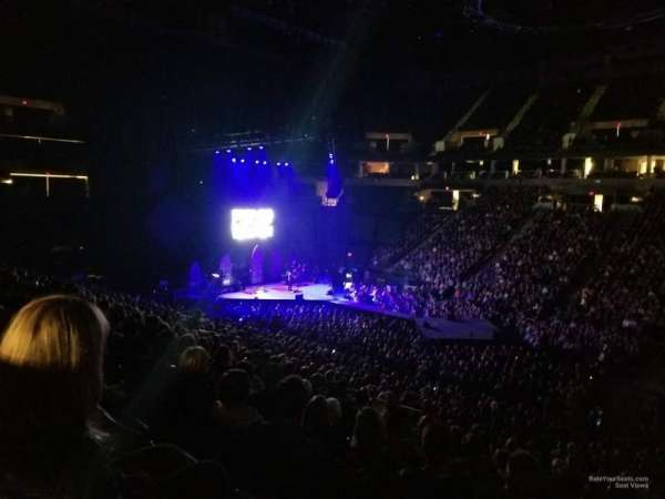 Target Center, section: 110, row: U