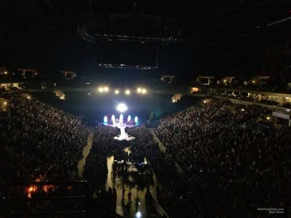Target Center, section: 201, row: C