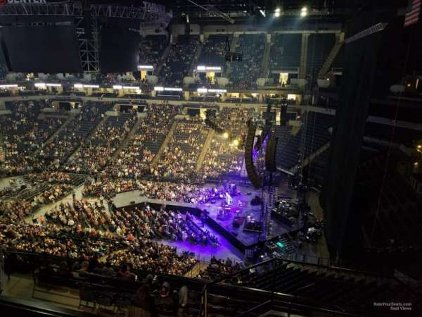 Target Center, section: 228, row: L, seat: 5