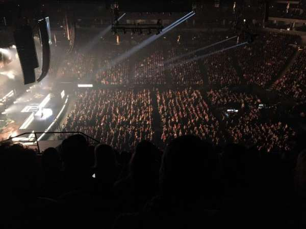Target Center, section: 211, row: P, seat: 11