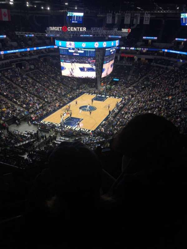 Target Center, section: 238, row: Q, seat: 15