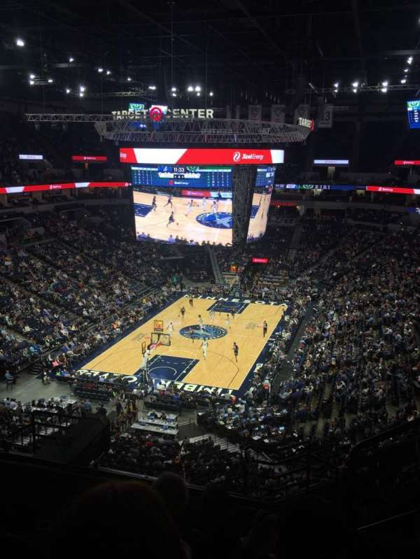 Target Center, section: 239, row: H, seat: 2
