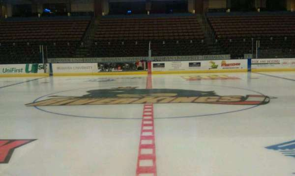 Landers Center, section: 116, row: 1, seat: 5
