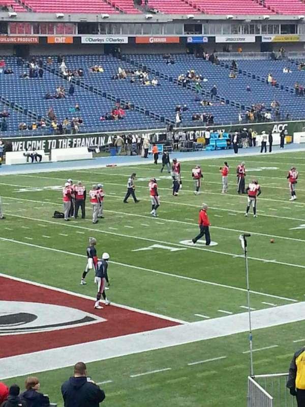 Nissan Stadium, section: 118, row: Y, seat: 9