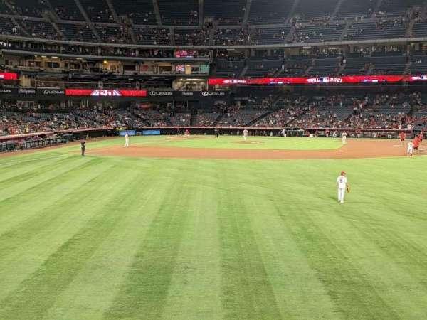 Angel Stadium, section: 237, row: A, seat: 15
