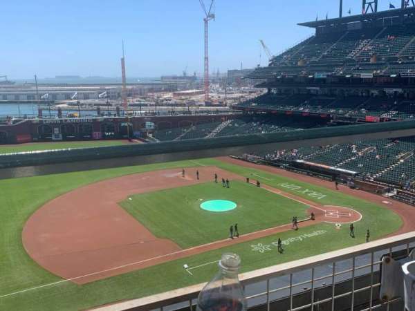 Oracle Park, section: VB325, row: A, seat: 10