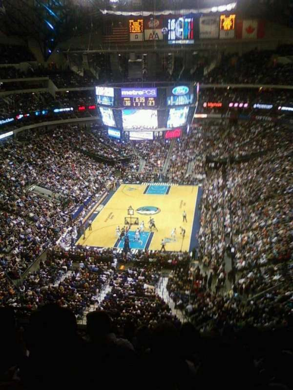 American Airlines Center, section: 317