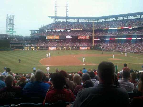 Citizens Bank Park, section: 132, row: 30, seat: 9