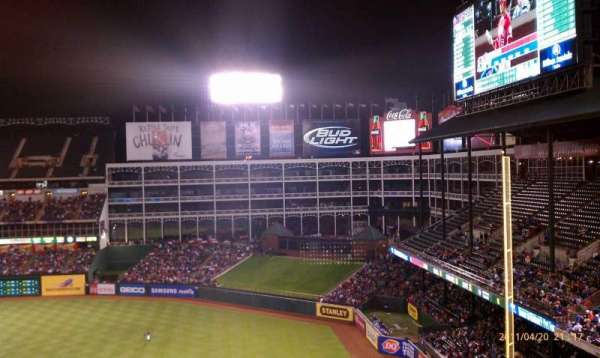 Globe Life Park in Arlington, section: 339, row: 18, seat: 1