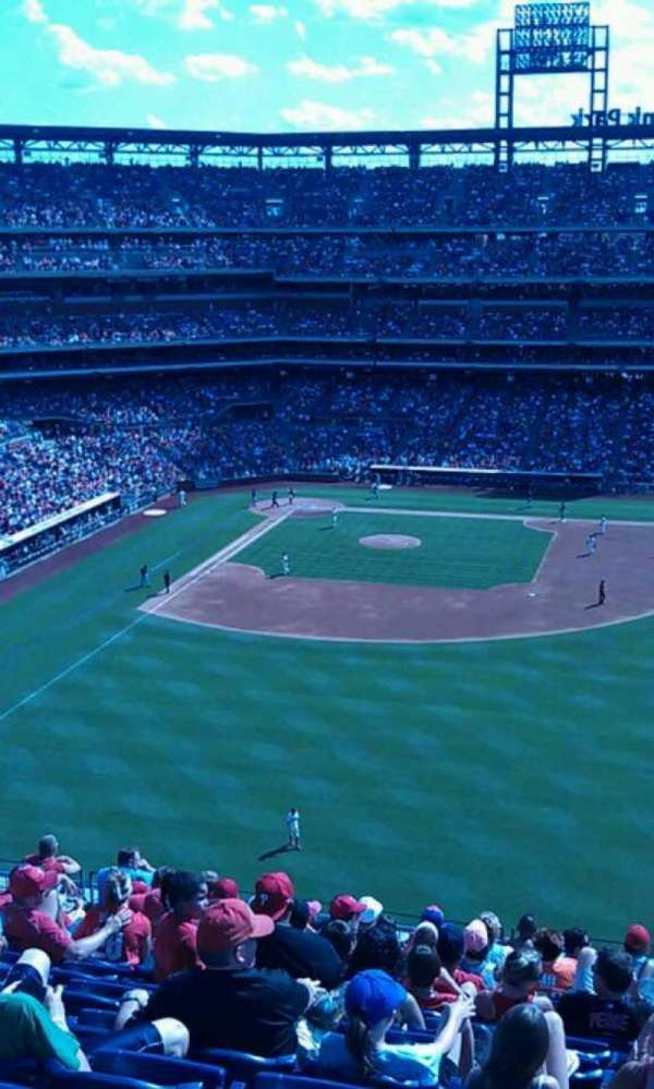 Citizens Bank Park, section: 302, row: 14, seat: 9