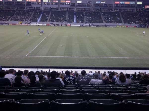 Dignity Health Sports Park, section: 131, row: x, seat: 16