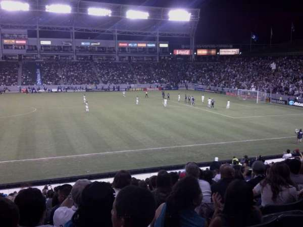 Dignity Health Sports Park, section: 131, row: x, seat: 15