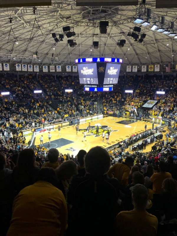 Charles Koch Arena, section: 125, row: 31, seat: 5