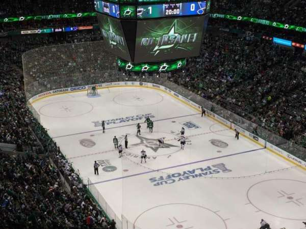 American Airlines Center, section: 320, row: K, seat: 20