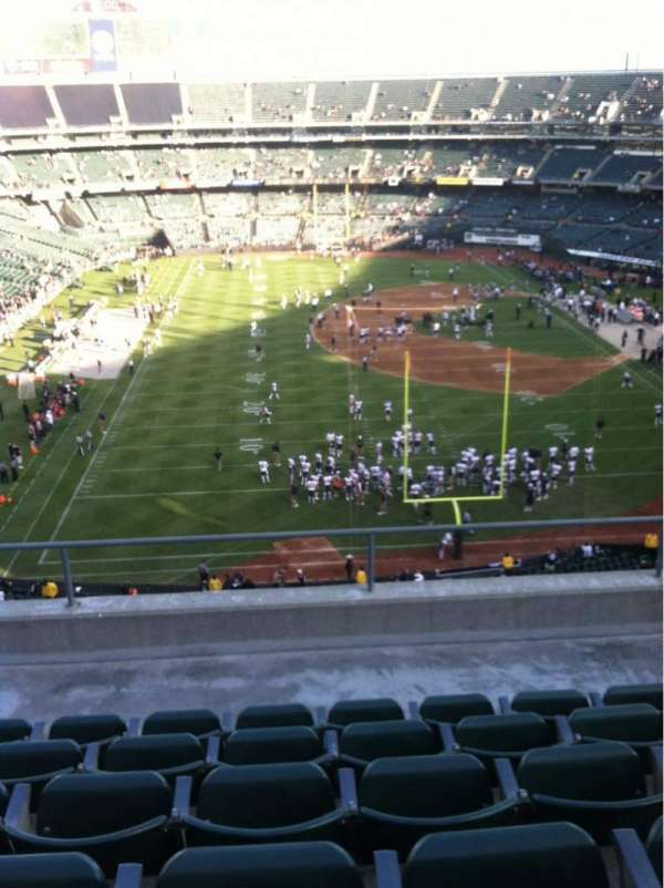 Oakland Coliseum, section: 329, row: 6, seat: 15