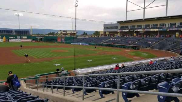 Medlar Field at Lubrano Park, section: 202, row: 18, seat: 18