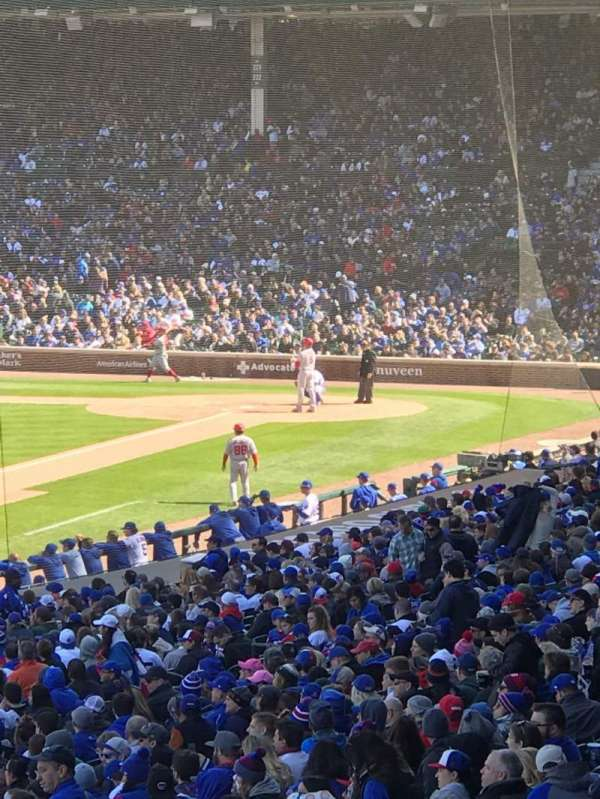 Wrigley Field, section: 204, row: 12, seat: 3