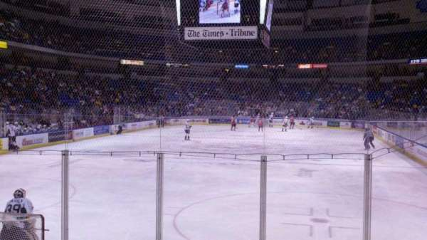 Mohegan Sun Arena at Casey Plaza, section: 122, row: h, seat: 13
