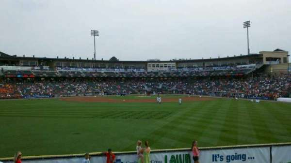 Coca-Cola Park, section: Lawn