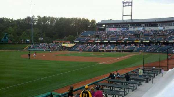 Peoples Natural Gas Field, section: rail, row: 1, seat: 1